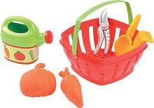 Ecoiffier Gartenkorb mit Zubehör [Kinderspielzeug]