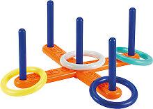 Ecoiffier Kreuz-Wurfspiel mit 4 Ringen