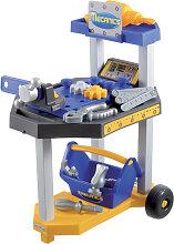 Ecoiffier Mecanics Mini Werkzeugwagen (Blau-Gelb)