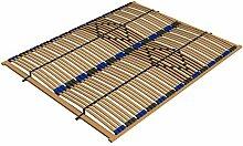 Ecolignum | Lattenrost VAO (#131002) | 140x200 | Rahmen Birke (Furnierholz) mit 84 Federholzleisten