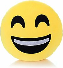 Ecommerce Trade 32cm/30,5cm Emoji-Kissen