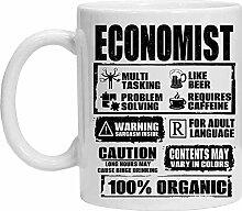 Economist Mug – Lustige Kaffeetasse, Teetasse,