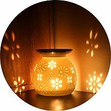 ecooe Aromalampe Teelichthalter Duftlampe aus