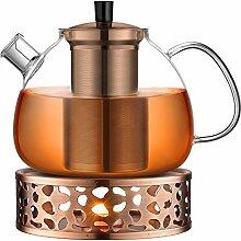 ecooe Original 1500ml Teekanne Glas