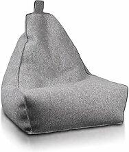 Ecopuf Keiko S Filc Sitzsack - Filz-Bean-Bag mit