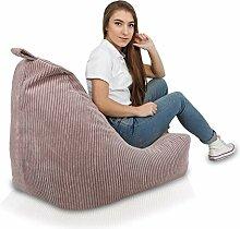 Ecopuf Keiko S Sitzsack Velvet und Kissen -