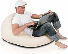 Ecopuf Sitzsack L - Beanbag aus Kunstleder mit