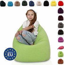 Ecopuf Sitzsack L - Plüsch-Bean-Bag aus