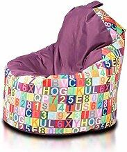 Ecopuf Yoko Modern Sitzsack - Outdoor und Indoor