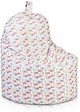 Ecopuf Yoko Sitzsack Flamingos - Outdoor und