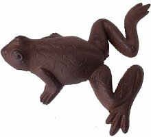 ecosoul Gartendeko Figur Frosch Gusseisen