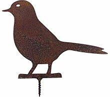 ecosoul Gartendeko Vogel Taube Täubchen mit Dorn