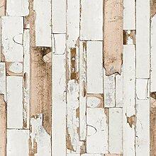 ecosoul Wachstuch-Tischdecke Door glatt beige