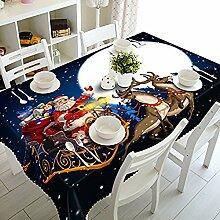 Ecosway, Weihnachts-Tischdecke für Esszimmer oder