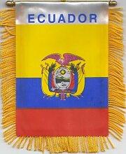 Ecuador Flagge Auto, Fenster, Partydekoration zum