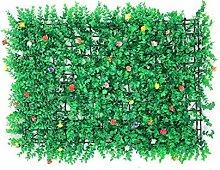 ECUTEE 10 Stück Grüne Matte aus künstlicher