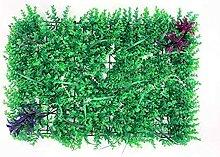 ECUTEE 10PCS Künstliche Heckenpflanze Grüne
