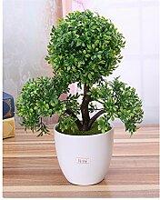 ECYC® Künstliche Blume Trigeminale Topfpflanzen