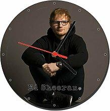 Ed Sheeran Wanduhren Wall Clock 20cm