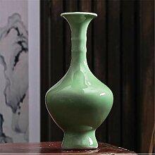 edafg Kunst Geschenkgrün Glasierte Bambus Hoch