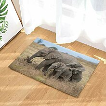EdCott Afrikanische Wilde Tier Elefant Mutter Baby