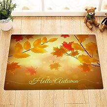 EdCott Hallo Herbst englisch blätter natürliche