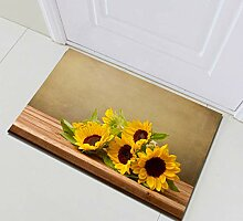 EdCott Landschaft gelbe Sonnenblume gestreiften