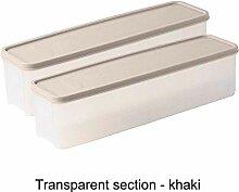EDCRFV Kühlschrank Lebensmittel Aufbewahrungsbox