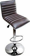 Edel Designer Barhocker Bar Tresen Hocker Stuhl M31 braun