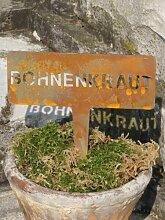 Edelrost Beetstecker Bohnenkraut