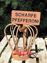 Edelrost Beetstecker scharfe Pfefferoni