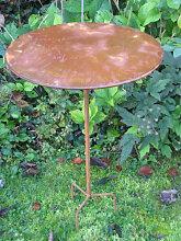 Edelrost Bistrotisch Telia, 100 cm