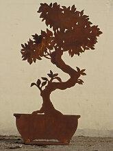 Edelrost Bonsai schmal, 32 cm