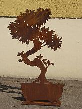 Edelrost Bonsai schmal, 50 cm