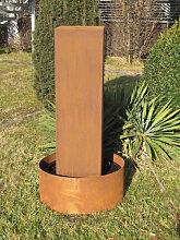 Edelrost Brunnen Peru, 100 cm (Edelrost Brunnen: