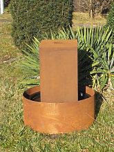 Edelrost Brunnen Peru, 50 cm (Edelrost Brunnen: