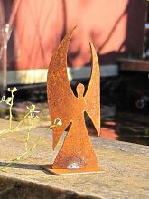 Edelrost Dekoengel modern, 11 cm