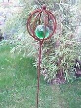 Edelrost ,Gartenkugel,GartenDekoration