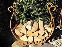 Edelrost Holzkorb Alda