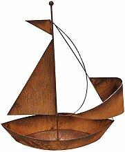 Edelrost Schiff zum bepflanzen Gartendeko