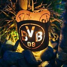 Edelrost Windlicht Borussia Dortmund