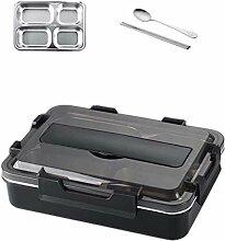 Edelstahl 304 Lunch Box mit Löffel Leak-Proof