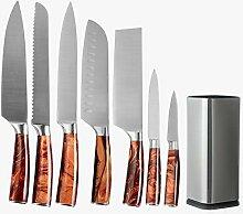 Edelstahl 8 Stück Messer Set 33 cm Wall Messer