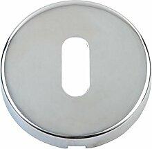 Edelstahl Abdeckrosette Lock, poliert, 1 Stück