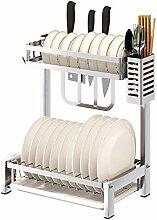 Edelstahl-Abtropfgestell für Küche 304, für