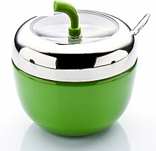 Edelstahl Apple Spice Jar kreative Spice Box