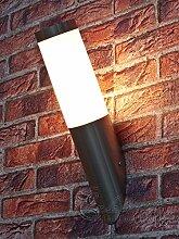 Edelstahl Außenlampe Außenleuchte Wandlampe