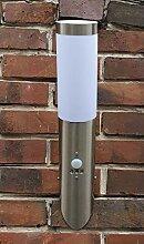 Edelstahl Außenlampe Fackel Hoflampe Lampe mit