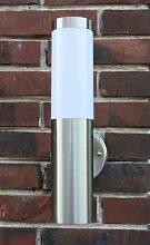Edelstahl Außenlampe mit LED Leuchtmittel 7 Watt