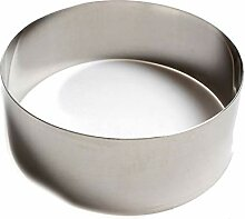 Edelstahl Ausstecher rund Form Fondant Kuchen Ring